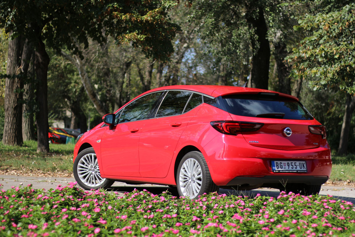 Auto magazin Srbija Test Opel Astra 1,6 CDTi Innovation