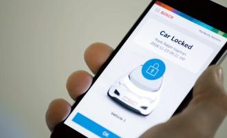 Bosch pretvara pametni telefon u ključ automobila