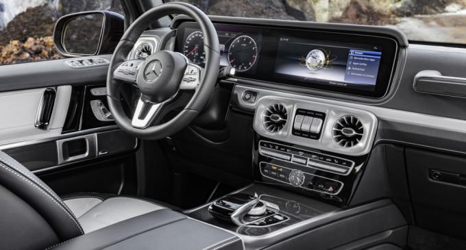 Otkrivena unutrašnjost nove Mercedes G klase