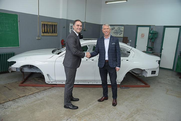 auto magazin srbija delta motors bmw donacija karoserije serije 7 tehnička škola gsp