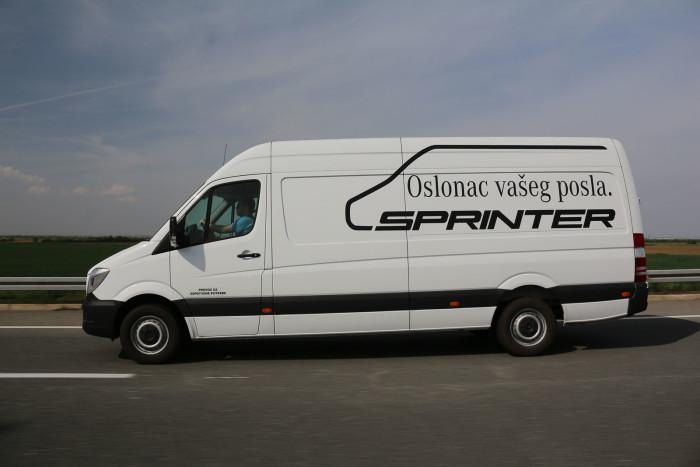 auto magazin srbija test mercedes sprinter