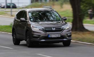 Test: Honda CR-V 1.6 i-DTEC 2WD H-CONNECT NAVI MT