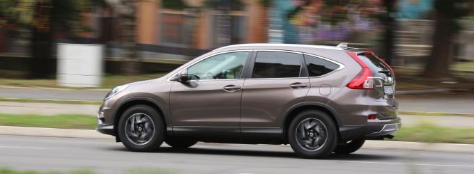 Test: Honda CR-V 1.6 i-DTEC 2WD H-CONNECT NAVI MT