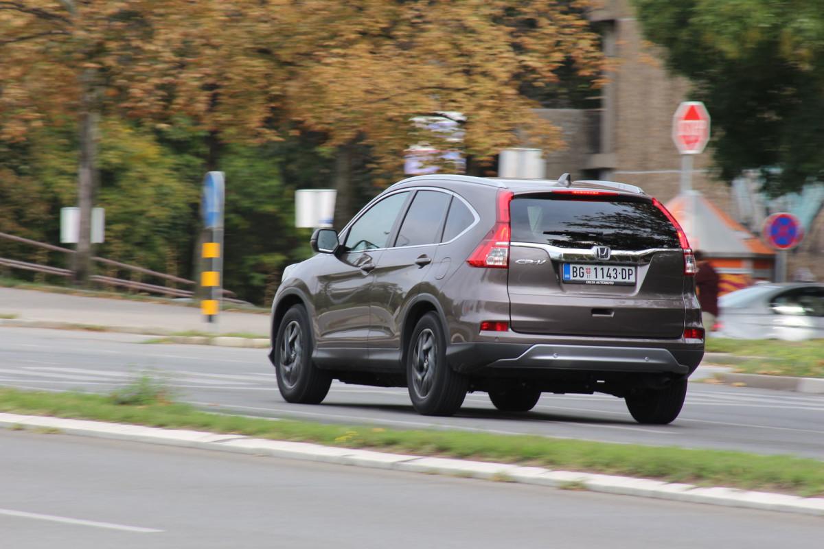 auto magazin srbija test honda cr-v 1.6 i-DTEC 2WD dizel