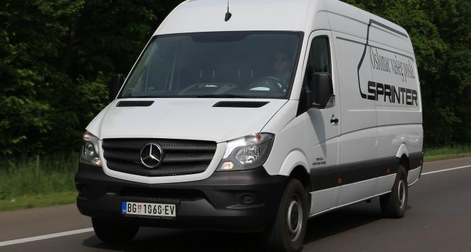 TEST: Mercedes-Benz Sprinter 314 CDI KA 4325