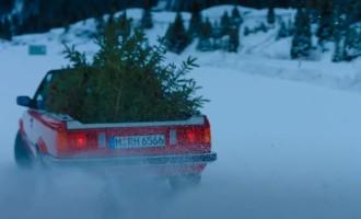 BMW čestita Božić na svoj način