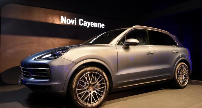 Novi Porsche Cayenne premijerno predstavljen u Beogradu