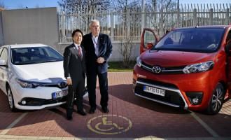 Toyota uz Olimpijski tim Srbije na putu za Tokio