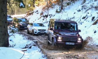 Vozili smo sve Mercedes Off-Road modele na Jahorini