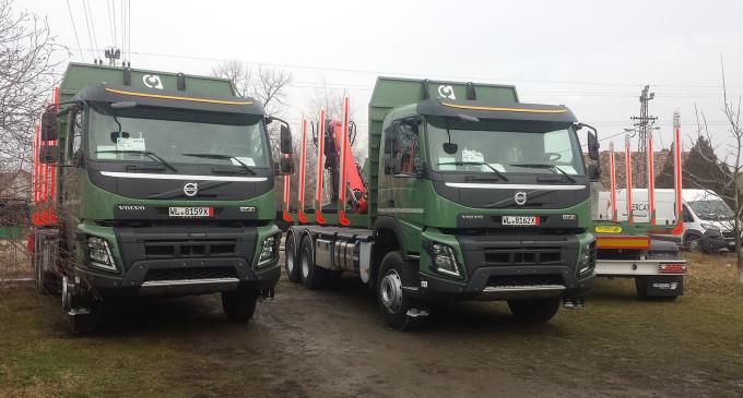 Srbijašume kupile Volvo FMX 6×4 s Palfinger nadgradnjama