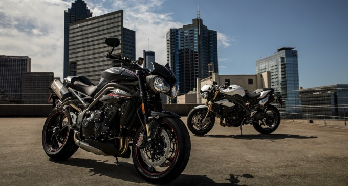 Novitet: Triumph Speed Triple S i RS