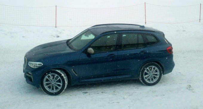 U Alpima vozimo BMW X3 M40i