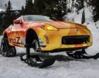 "Nissan 370Z pretvoren u ""snegomobil"""