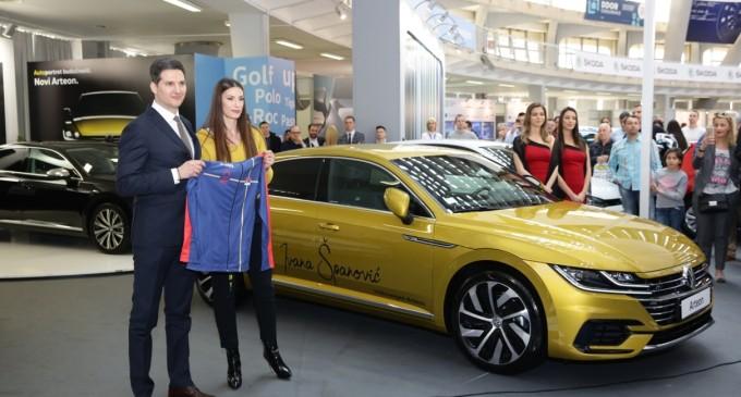 Ivana Španović vozi novi VW Arteon