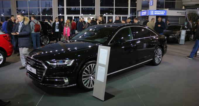 Najskuplji auto sa četvora vrata na sajmu je Audi A8