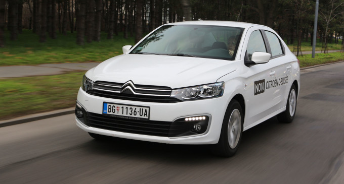 TEST: Citroën C-Elysée  PureTech 82 Feel