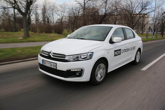 auto magazin srbija test Citroën C-Elysée