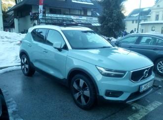 U Sloveniji vozimo novi Volvo XC40