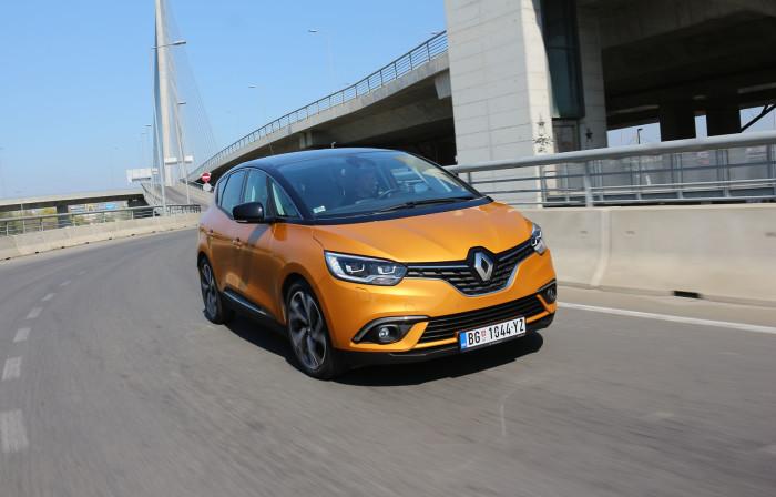 auto magazin srbija test renault scenic 1,6 dCi 160