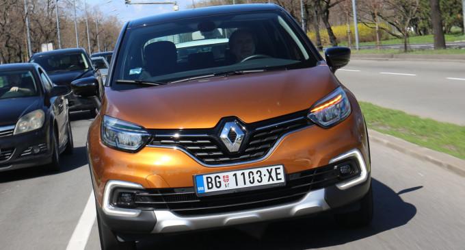Vozimo novi Renault Captur TCe 120 Intens