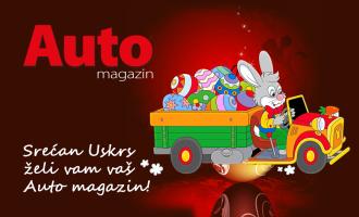 Srećne uskršnje praznike želi vam redakcija Auto magazina!