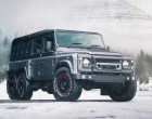Land Rover Defender 6×6 vodi celu familiju na Off-Road