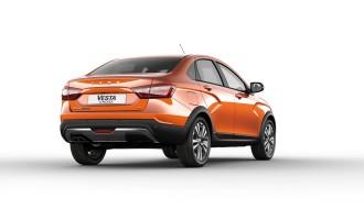 Lada Vesta Cross Sedan ima veći klirens od Toyote RAV4