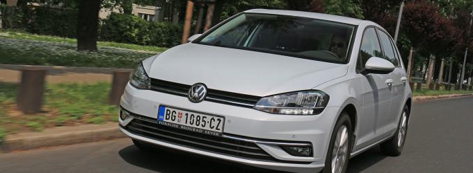 TEST: Volkswagen Golf 1,0 TSI Comfortline