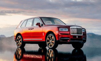 Rolls-Royce Cullinan spreman za sajam u Beogradu!