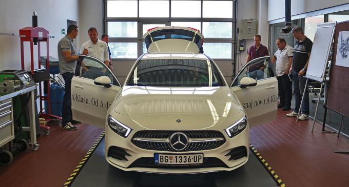 Mercedes A klase uskoro na testu Auto magazina