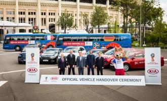 Kia isporučila 424 vozila za svetsko prvenstvo u fudbalu