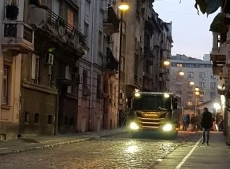 Scania snimala promotivne spotove u Beogradu