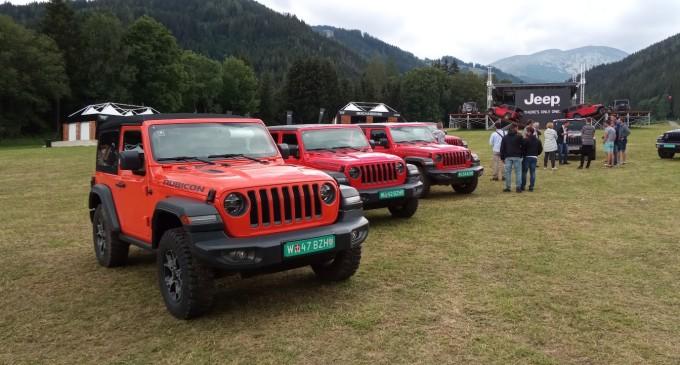 U Austriji vozimo novi Jeep Wrangler