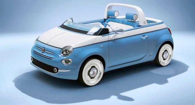 Specijalno letnje izdanje: Fiat 500 Spiaggina