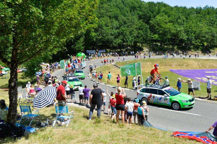 Tour de France 2016 - 07/07/2016 - Etape 6 - Arpajon-sur-cere/ Montauban (190;5 km) - Caravane Skoda
