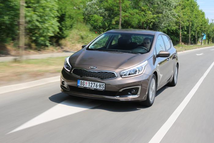 Auto magazin Srbija Test Kia Cee'd 1,4 CVVT World Cup Vision