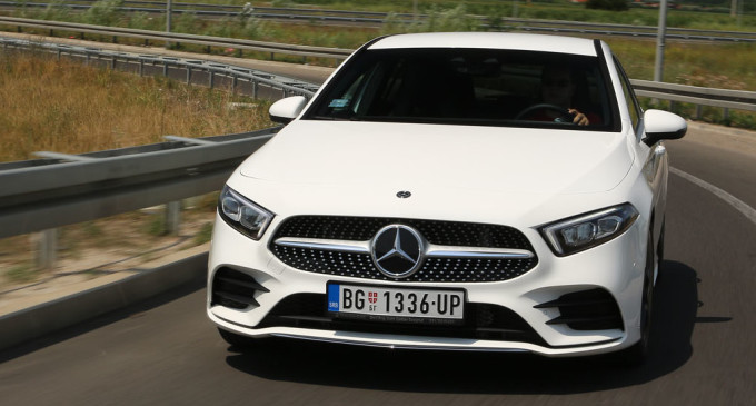 Testiramo novi Mercedes A klase