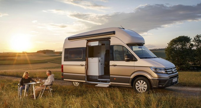 VW Grand California je kamper na bazi Craftera