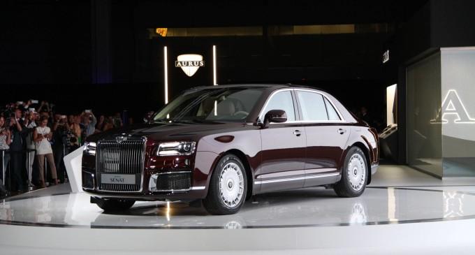Aurus Senat je ruski Rolls Royce