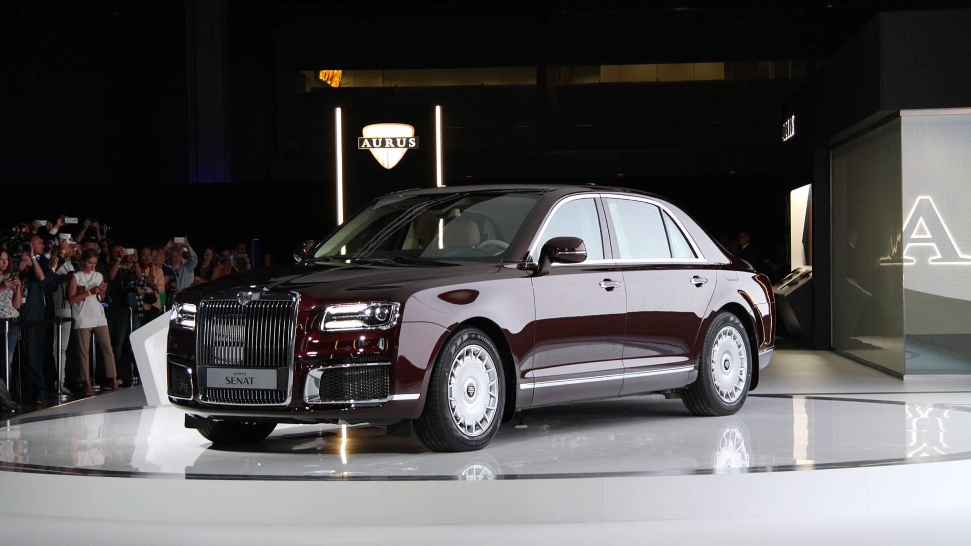 Aurus Senat Je Ruski Rolls Royce Auto Magazin