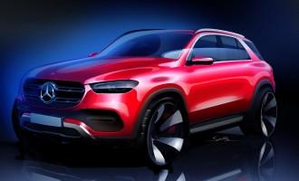 Otkrivene prve slike uživo novog Mercedesa GLE