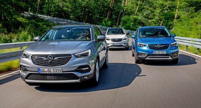 U Majncu smo vozili sve Opel SUV modele