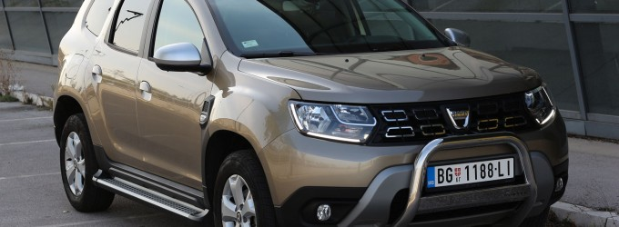 TEST: Dacia Duster 1,2 TCe 125 Comfort
