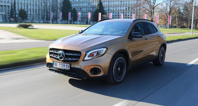 TEST: Mercedes GLA 200 d