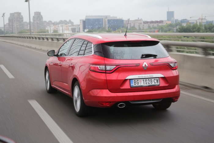 Auto magazin Srbija Test Renault Mégane Estate Intens Blue dCi 115