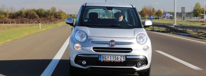 TEST: FIAT 500L 1,4 MPI Urban Pop Star