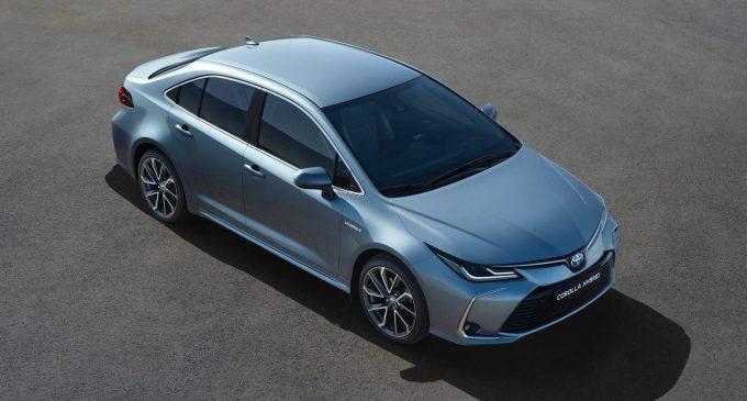 Ovo je nova Toyota Corolla sedan