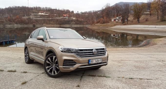 Vozimo VW Touareg po istočnoj Srbiji