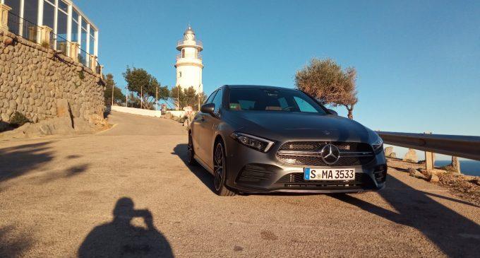 Na Majorci vozimo novi Mercedes B klase i A35 AMG