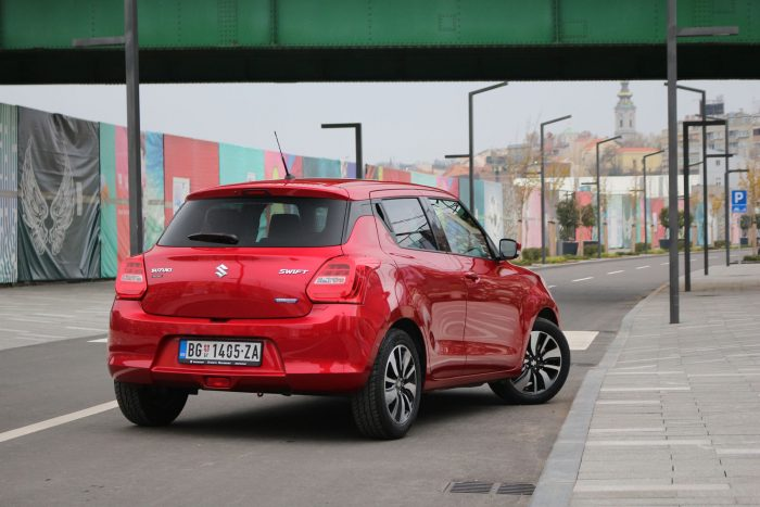 auto magazin srbija test suzuki swift 1.2 SHVS hybrid